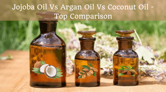 Jojoba Oil Vs Argan Oil Vs Coconut Oil - Top Comparison