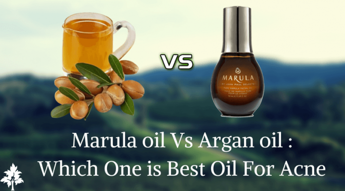 Marula oil Vs Argan oil